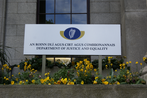 Department of Justice and Equality, Dublin. Image: © Joan O'Connell, 13th May 2014